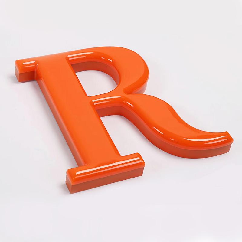 3d Acrylic neon letters